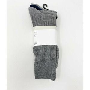 Nordstrom Rack Dress Socks 3 Pack Gray